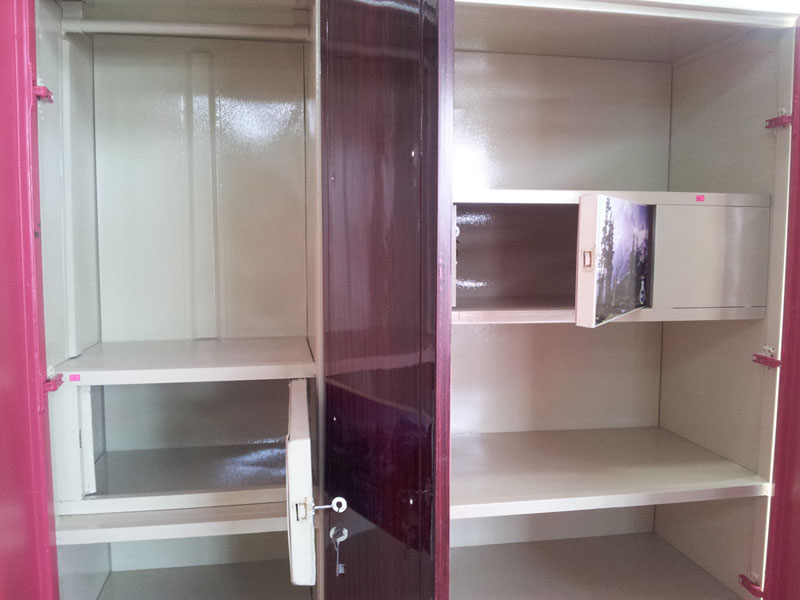 Two door wardrobe interior design for 4 door wardrobe interior designs